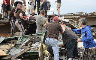 First Responders to the Oklahoma Tornado