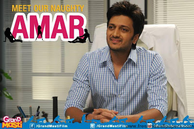 Grand Masti 2013 - Ritesh as Amar