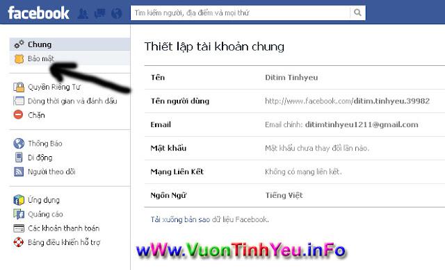 cach khoa facebook xóa fb tam thoi