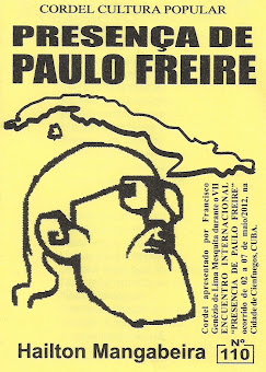 Cordel: Presença de Paulo Freire. Nº110. Maio/2012