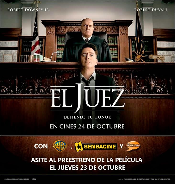 Concurso El Juez preestreno Sevilla