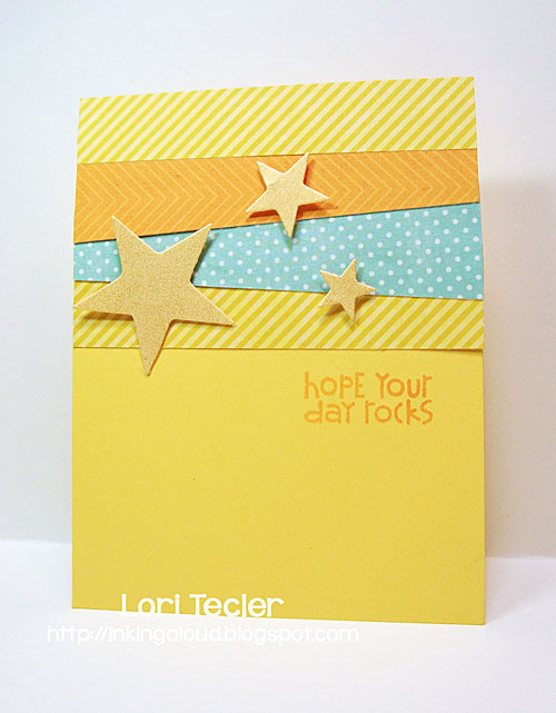 Hope Your Day Rocks card-designed by Lori Tecler/Inking Aloud-stamps and dies from Paper Smooches