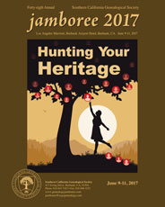 So Ca Genealogy Jamboree 2017