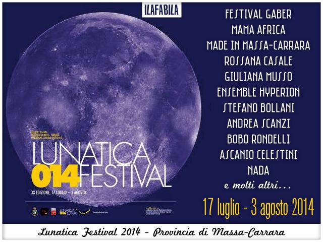 #lunaticando - Lunatica Festival 2014 - Provincia di Massa Carrara