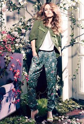 H&M Conscious primavera 2013 pantalones mujer