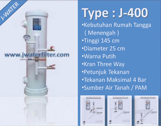 Filter Air Rumah Tangga J-400 | FILTER PENYARING AIR