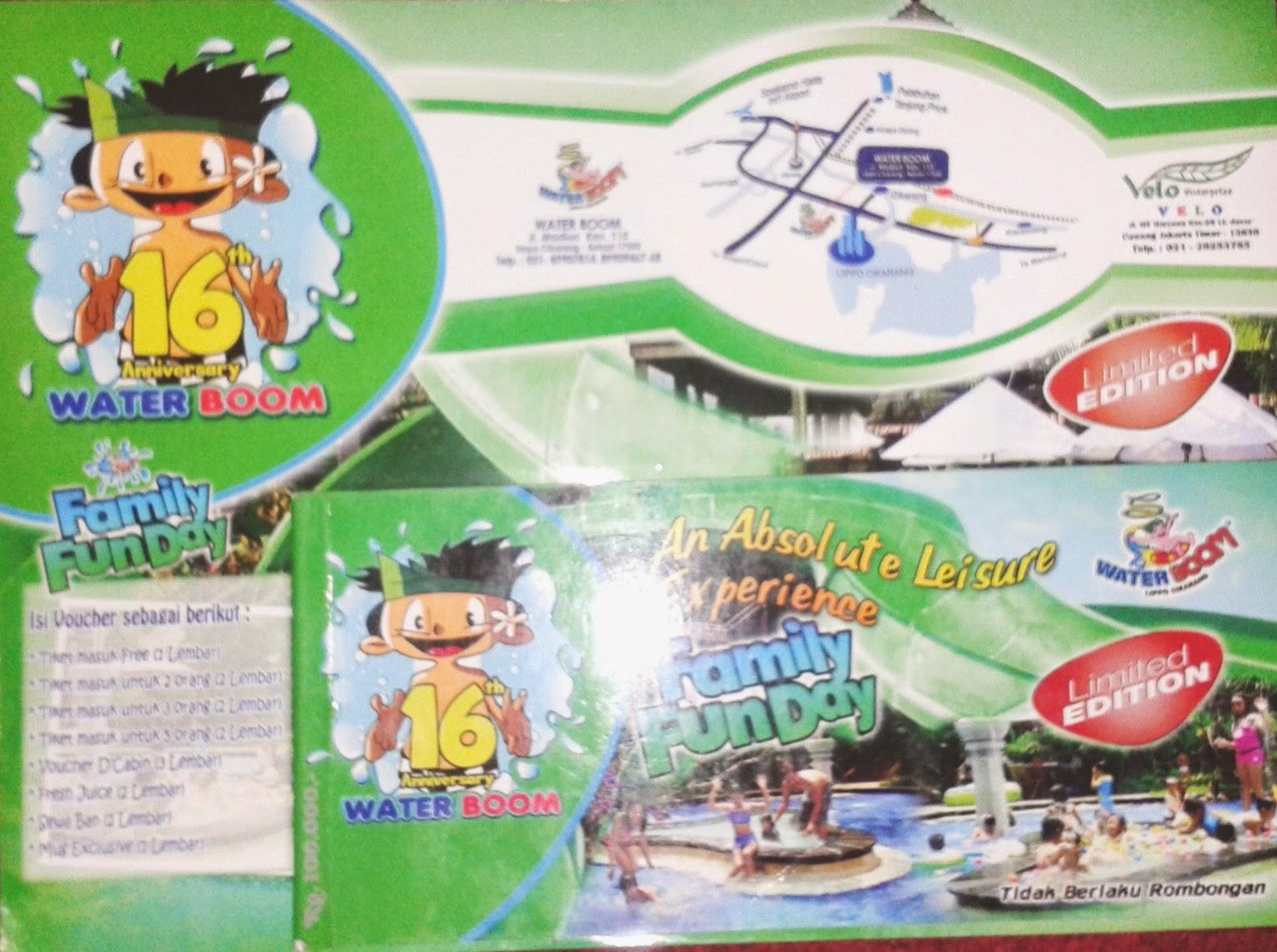 Promo Wahana Air Voucher  Tiket Masuk Megati Waterpark Cikarang Web Http Posted By