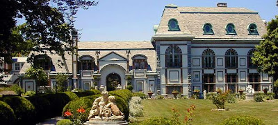Belmont Castle in Newport, Rhode Island is said to have a high rate paranormal activity