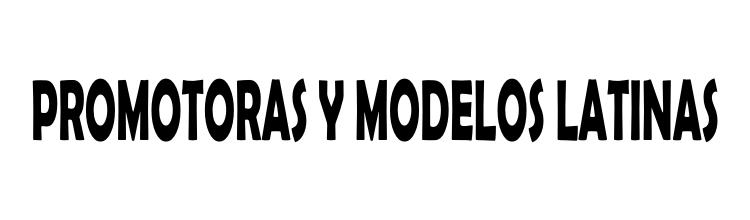 Promotoras y Modelos Latinas