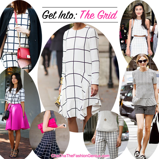 How To Wear Grid/ Windowpane