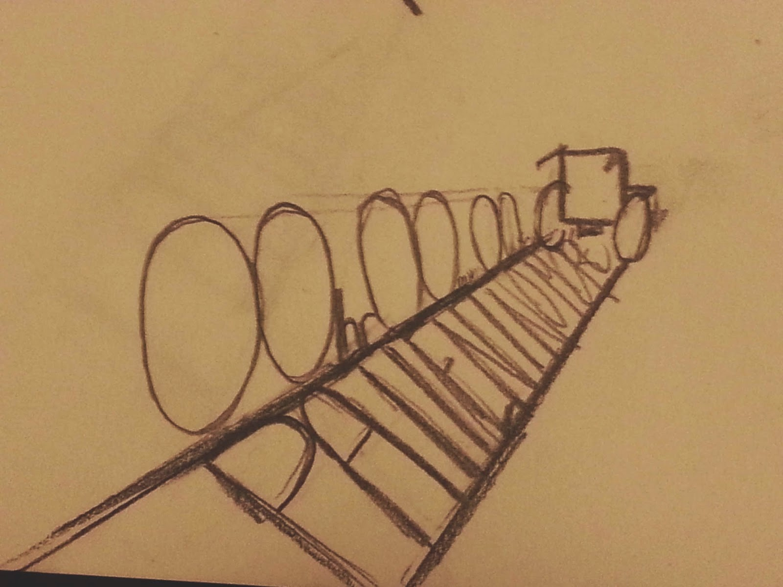 "vanishing point sketch of ""Patient No More!"" logo. The back of a wheelchair rolls away in the distance as it marks a path with the words ""Patient No More"" inside and the time 00 hour 00 min 00 sec."