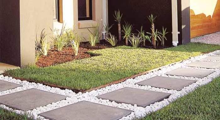 El jardin bueno bonito y barato el cesped - Como disenar un jardin exterior ...