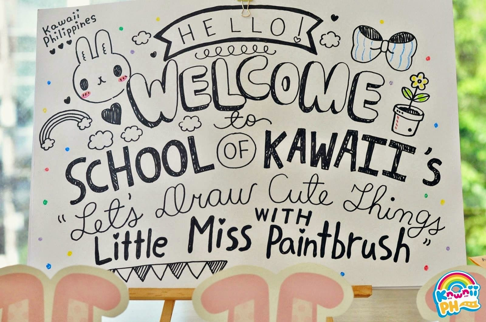 Image of: Draw So Today Finally Will Be Blogging About Kawaii Philippines First Session For The School Of Kawaii Workshops For The Ongoing Project Kawaii Fund To Bokamosoafricaorg School Of Kawaii Lesson 1 Lets Draw Cute Things Moon Peach