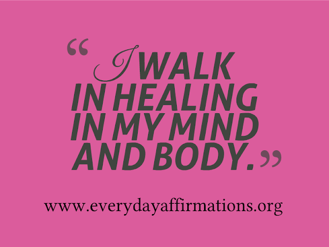 Daily Affirmations - 9 August 2013
