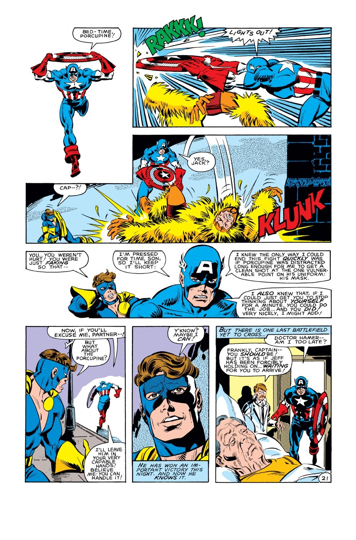 Captain America (1968) Issue #285 #201 - English 22