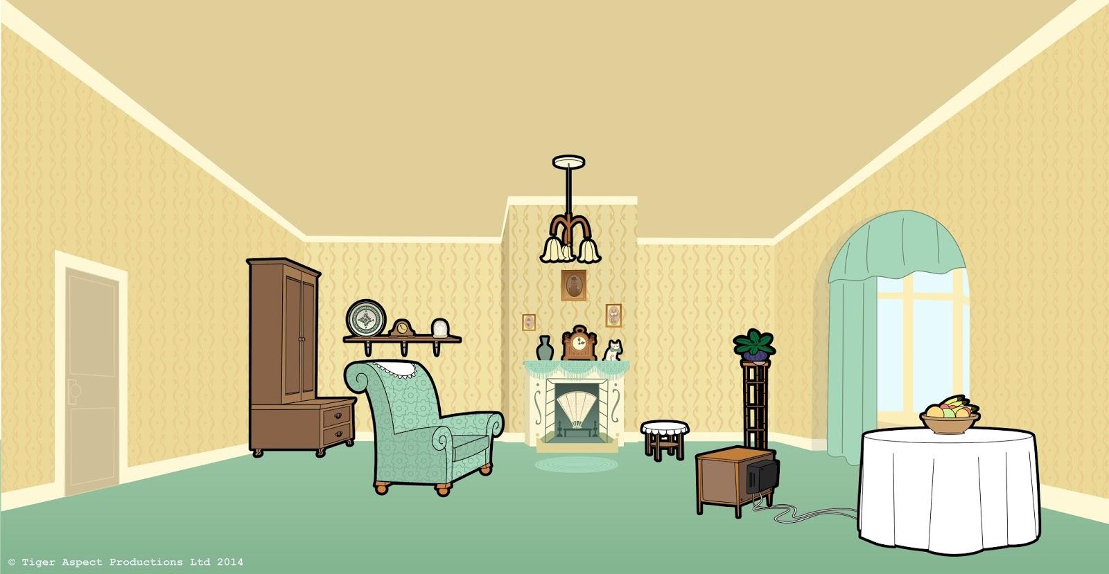 Cartoon Living Room Background The Image Kid Has It