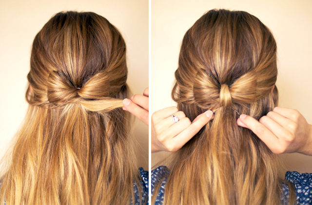 The way i see it hair bow repeat on the opposite side to finish the bow shape urmus Choice Image