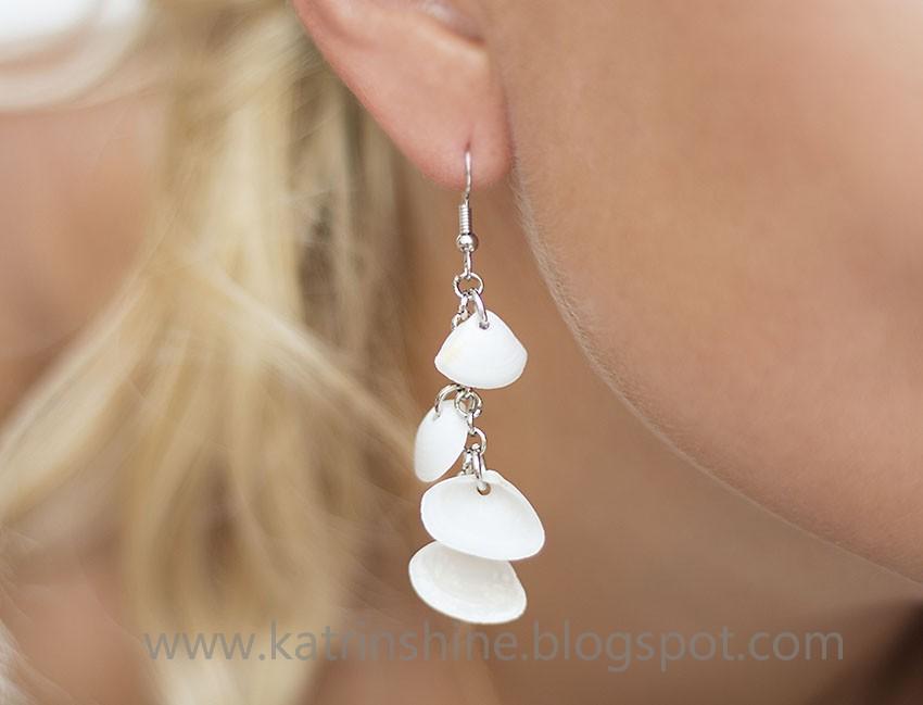 Katrinshine seashell dangle earrings diy solutioingenieria Gallery