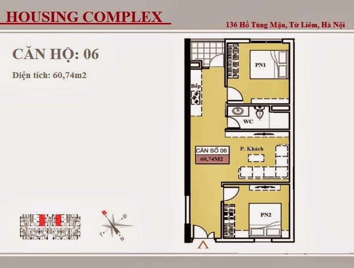 136 Hồ Tùng Mậu - Vinaconex 7 - Housing Complex - CH06