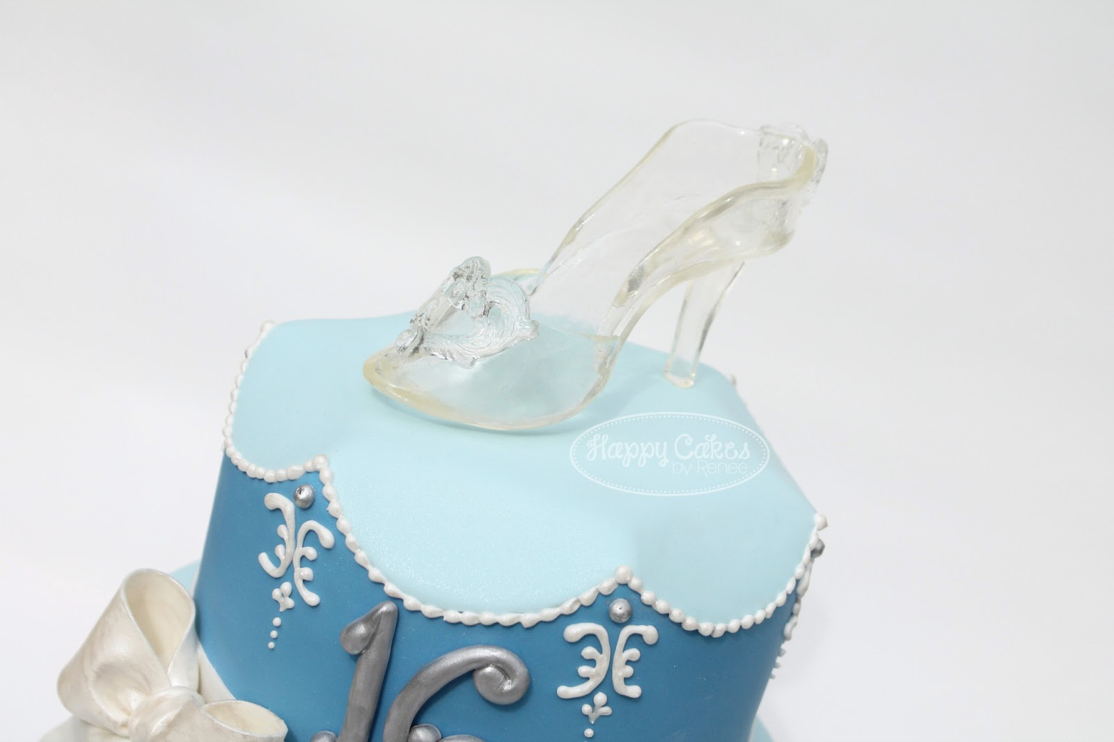 Cinderella Sweet 16 Birthday Cake Renee Conner Cake Design
