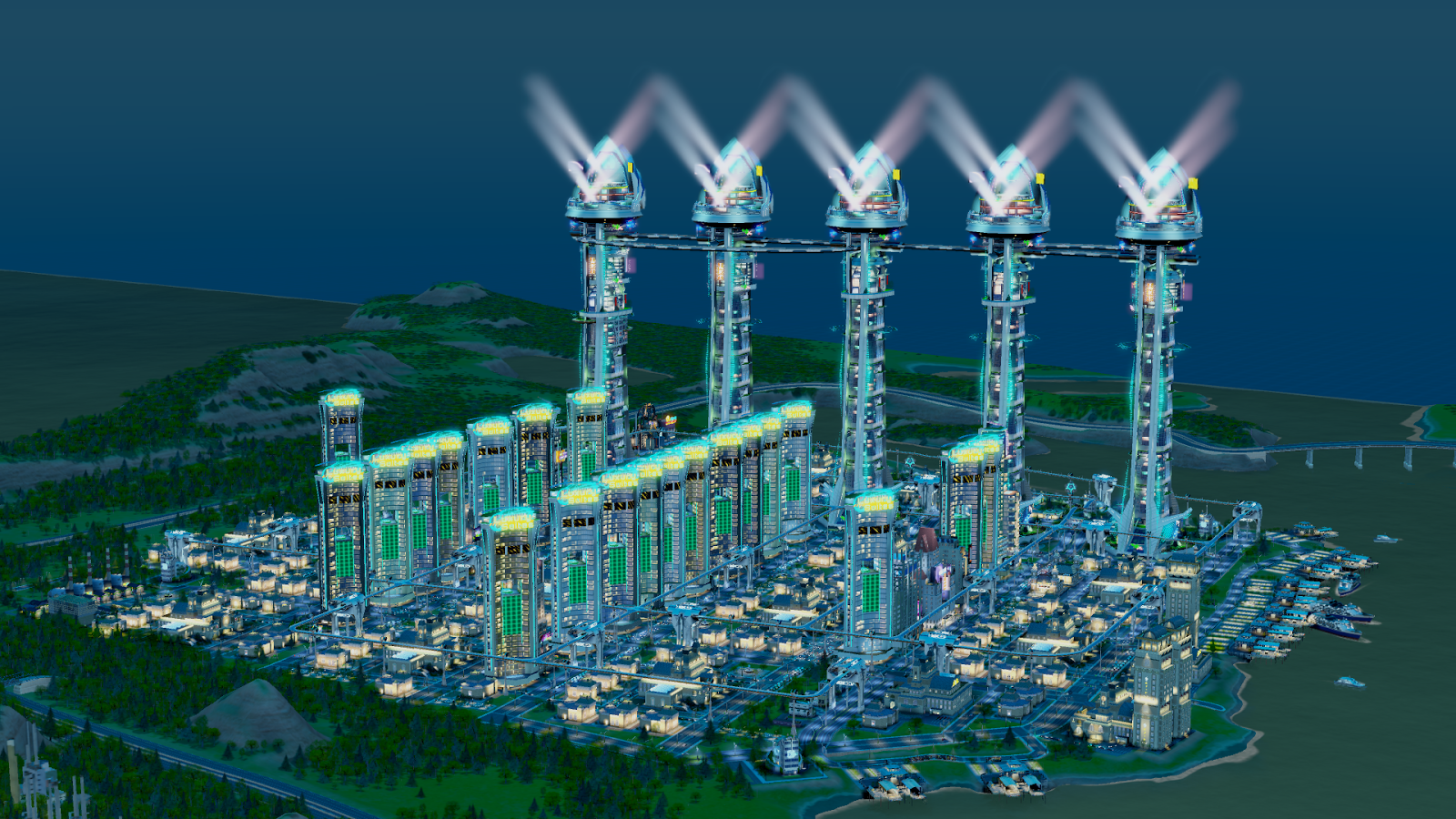 Simcity 5 casino city tutorial