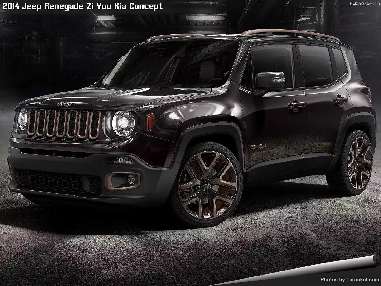 Hình ảnh xe ô tô Jeep Renegade Zi You Xia Concept 2014 & nội ngoại thất