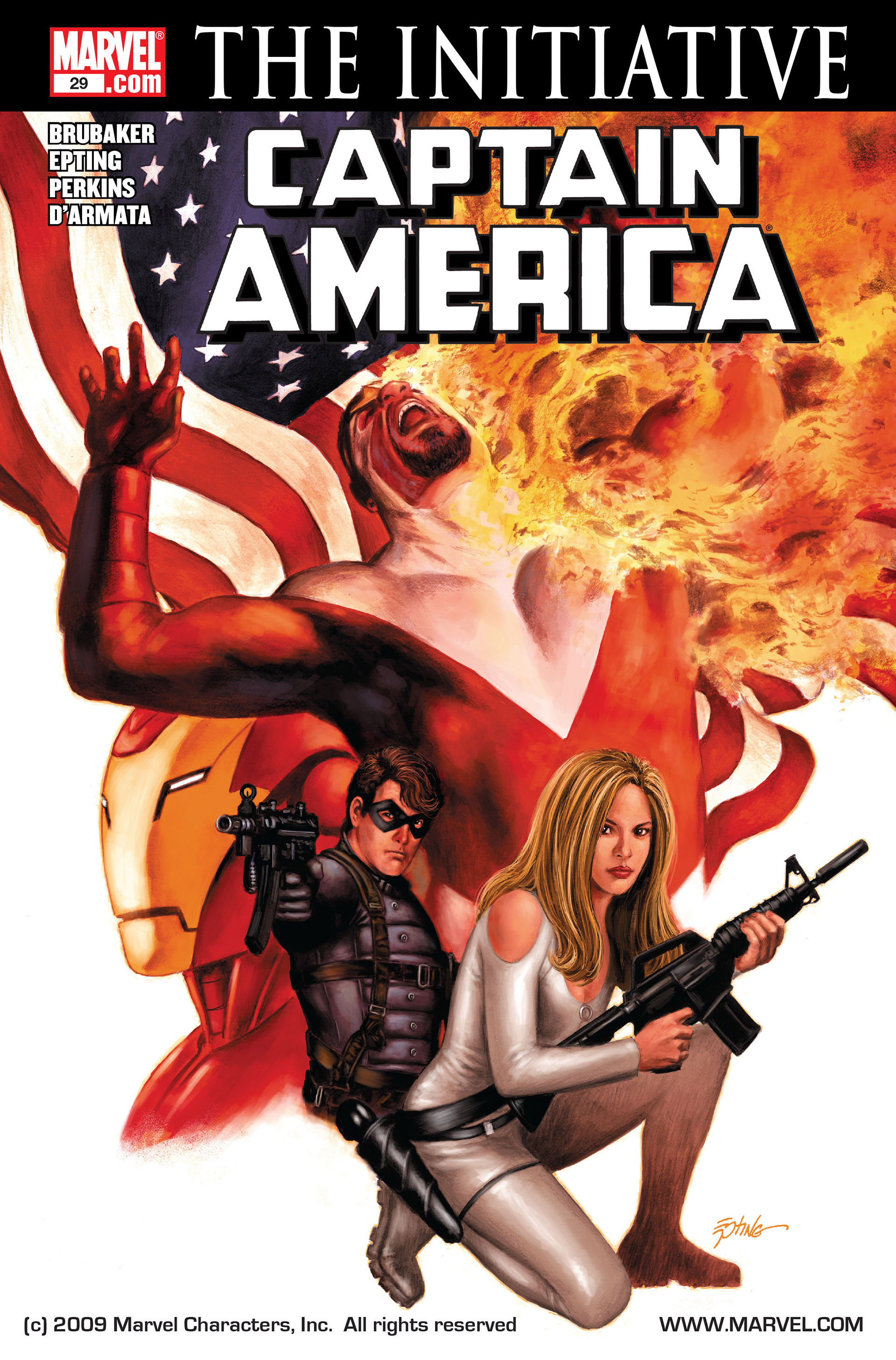 Captain America (2005) Issue #29 #29 - English 1