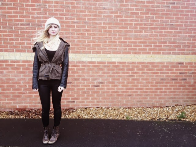 FashionFake, style blog, fashion blog, Primark parka coat, ASOS beanie, River Island boots