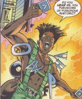 Creato da Paul Jenkins nel fumetto Spider-Man - Marvel Comics