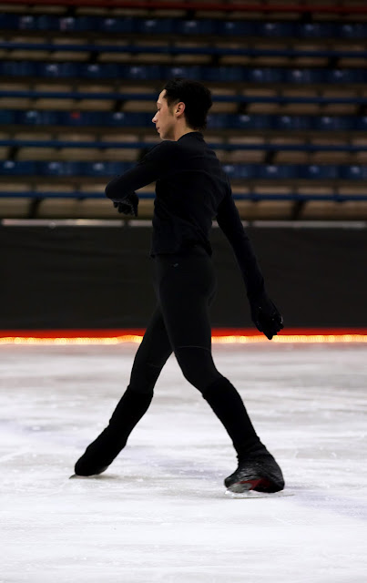 Johnny Weir. Photo © David Ingogly @ Official Johnny Weir Blog.