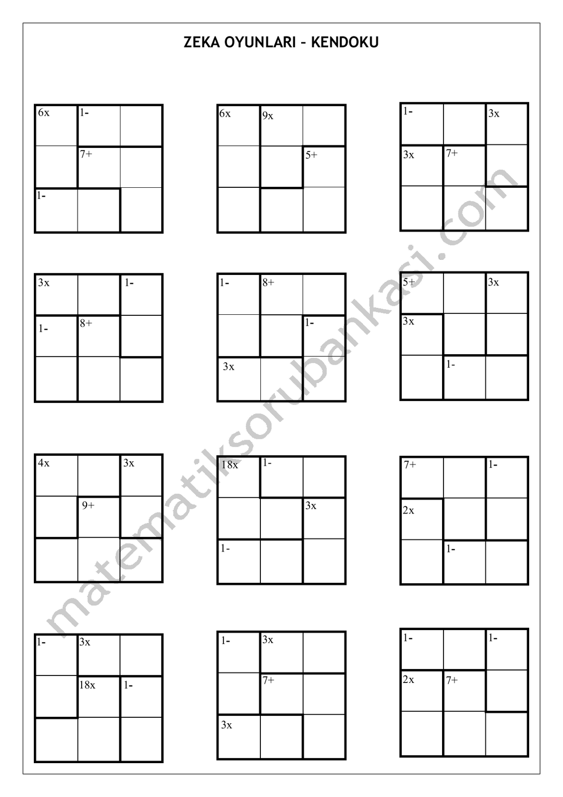 Printable Logic Grid Puzzles 1275 · 1650
