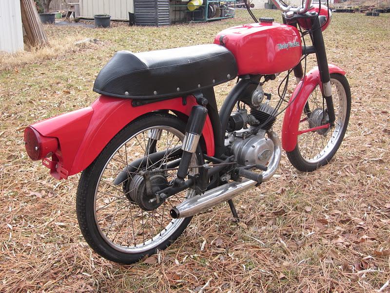 OldMotoDude: 1966 Harley Davidson/Aermacchi M50 Sport
