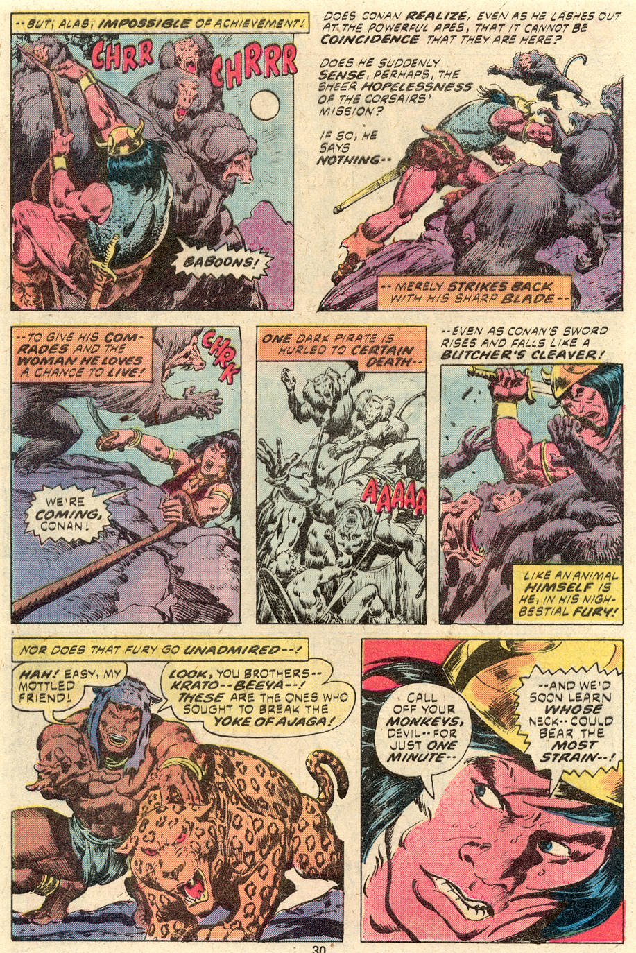 Conan the Barbarian (1970) Issue #94 #106 - English 17