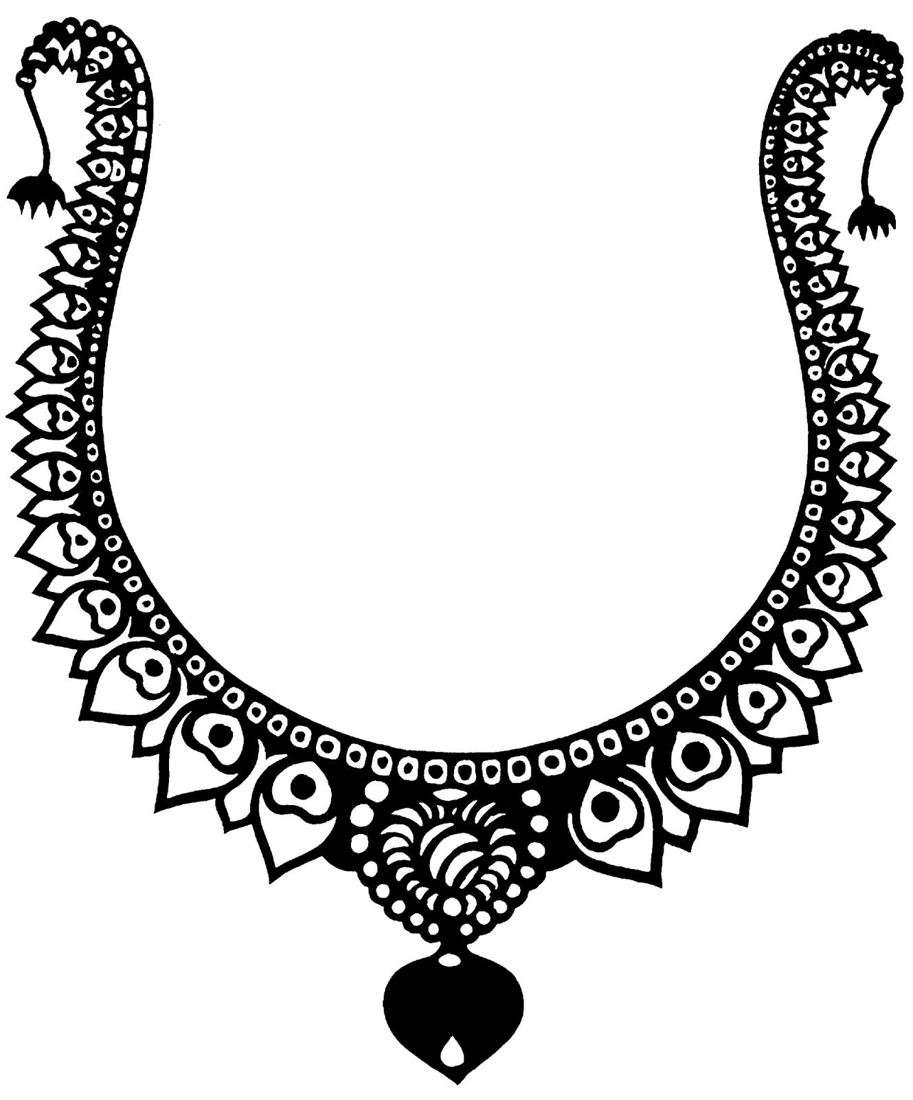 Jewelry Design Line Art : Jewellery clipart october
