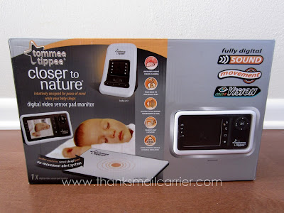 Tommee Tippee Digital Video Sensor Pad Monitor