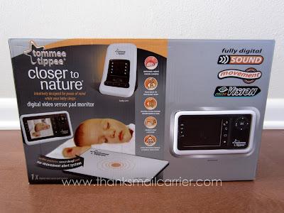Tommee Tippee Digital Video Sensor Pad Monitor