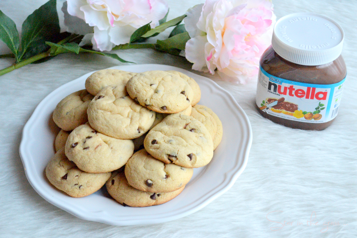 Recette de cookies fourrés au Nutella