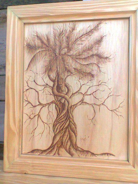 Recicla arte y madera for Enmarcar cuadros en casa
