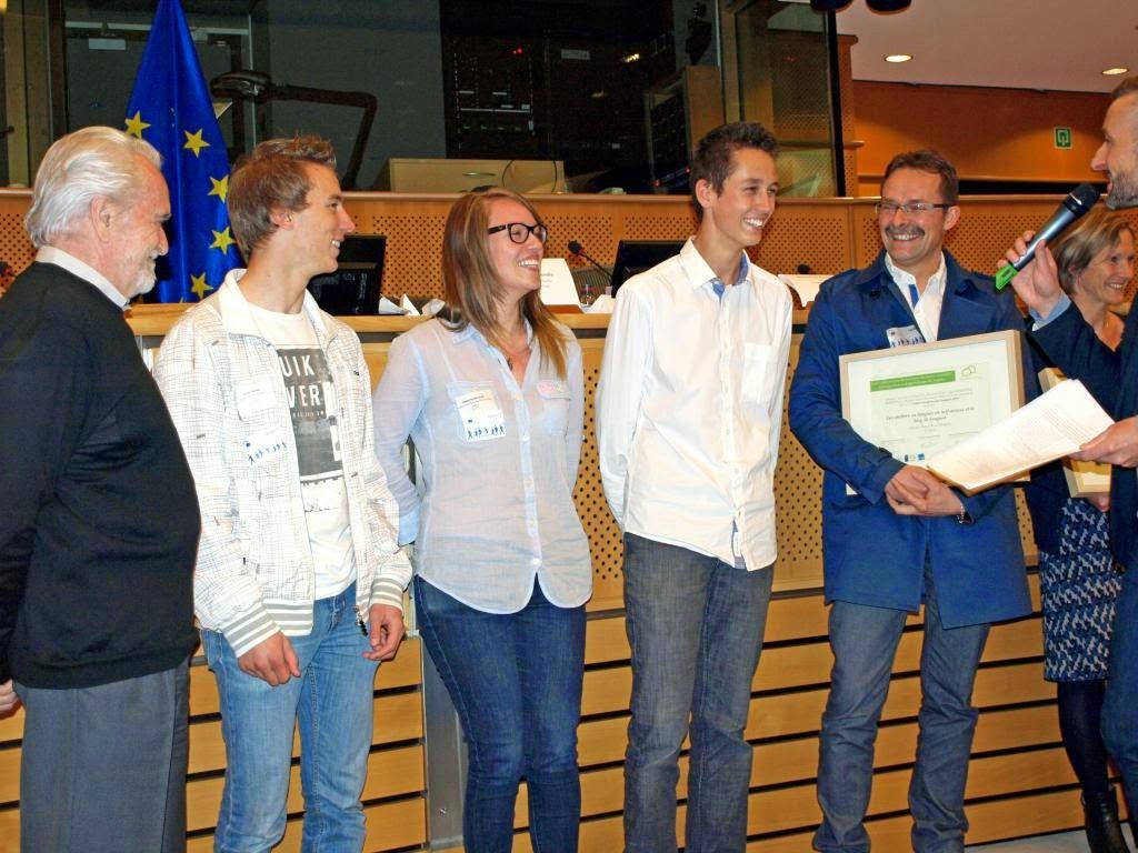 Remise du Label européen des Langues - Parlement européen