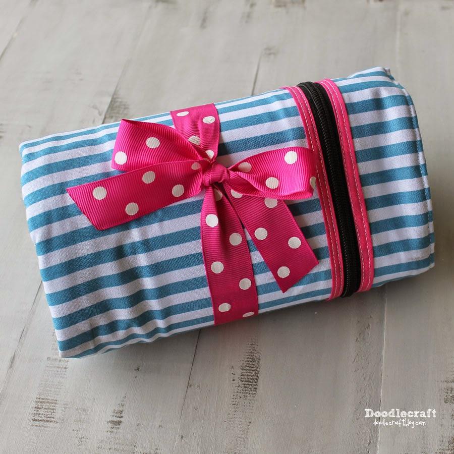http://www.doodlecraftblog.com/2014/09/roll-up-glove-box-essentials-caddy.html