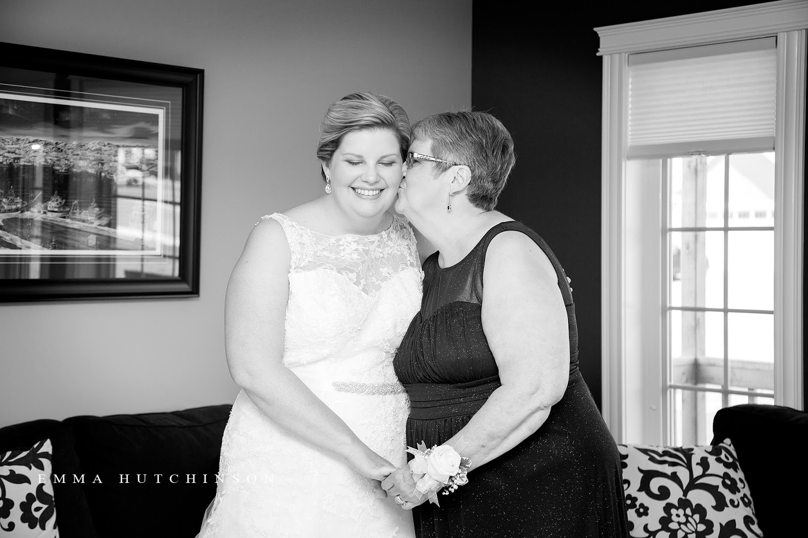 Weddings in Grand Falls-Windsor - photography of Bride and Mother of the Bride
