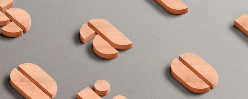 Stampa, tipografía modular a partir de formas geométricas