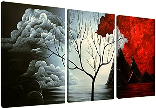 Santin Art- the Cloud Tree-Modern Abstract Painting High Q
