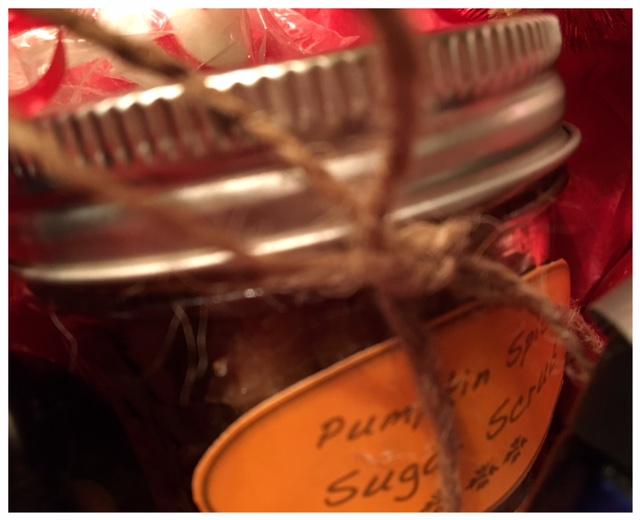 Beauty Begins with Biscotti: Pumpkin Spice Sugar Scrub