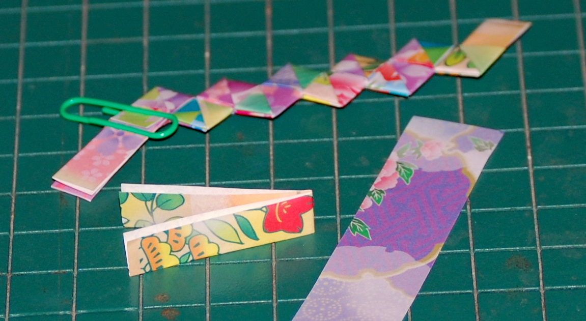 gum wrapper chain instructions