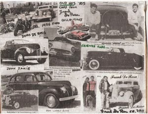 OLD 40's & 50's CARS