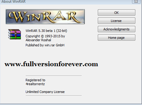 winrar software free for pc