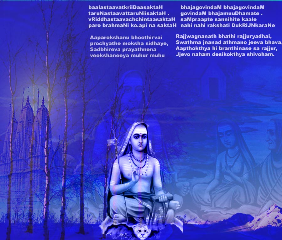 the life of the great shankaracharya essay He was the couple's only child and the mother resisted her son becoming a monk giving up all worldly life it took great shankaracharya was view full essay.