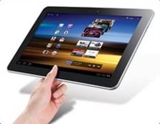 Samsung Galaxy Tab (10.1-Inch, 32GB, Wi-Fi), thin and widescreen tablets