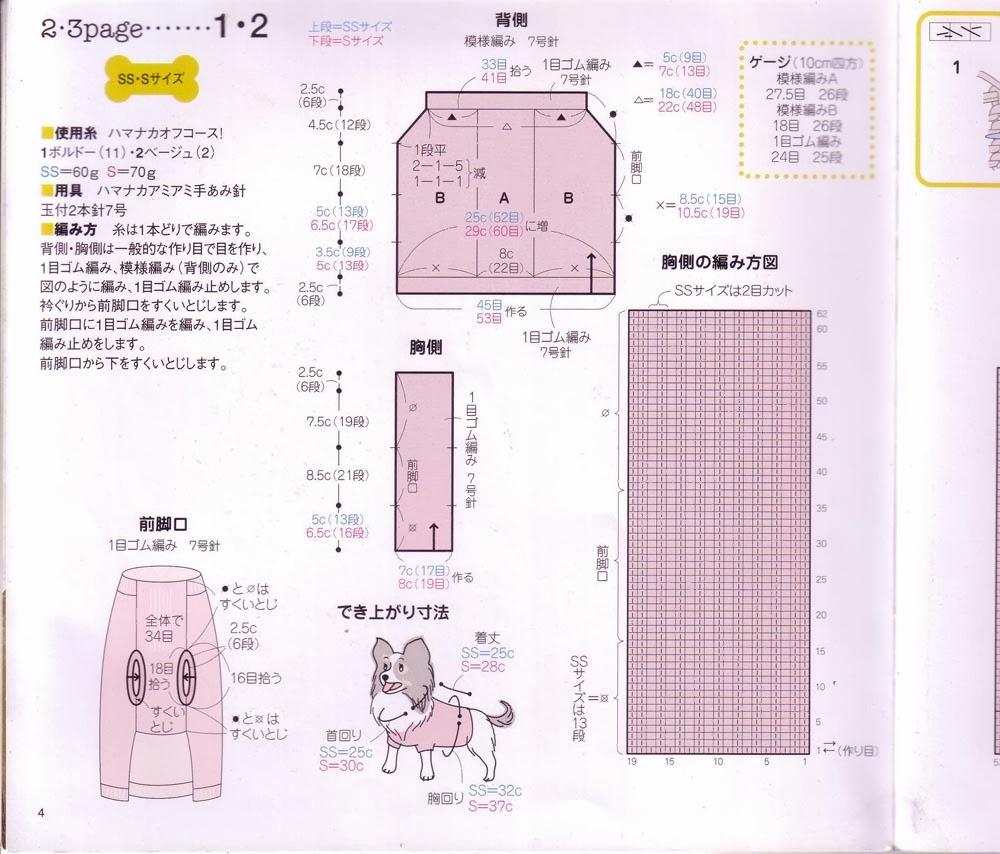 Вязание спицами одежда для собак своими руками